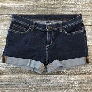 Patagonia Denim Cuff Shorts Size 28 (fits like 27)